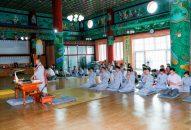 Khóa tu học tại chùa Pháp Vương Hàn Quốc