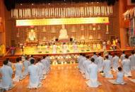 Trang nghiêm lễ xuất gia gieo duyên – Khóa tu học Phật Pháp lần thứ 6 tại Hàn Quốc
