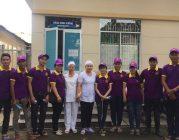 Ban Ánh đạo Bình Dương tặng quà ở Bệnh viện Đa khoa tỉnh Bình Dương