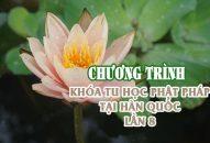 Chương trình – Khóa tu học Phật pháp tại Hàn Quốc lần 8