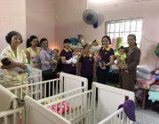 Phân BTN Ánh Đạo Vũng Tàu tặng quà tại mái ấm Chùa Hồng Quang