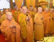 Giáo hội viếng tang Trưởng lão HT.Thích Minh Cảnh