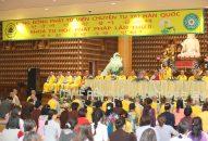 Lễ khai mạc Khóa tu học Phật pháp lần thứ 8 cho Phật tử Việt Nam tại Hàn Quốc