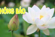 Thông báo – V/v hủy lịch giảng tại chùa HƯƠNG NGHIÊM