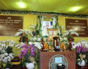 Lễ Di quan Trưởng lão Hoà thượng THÍCH MINH CẢNH