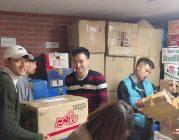 Cuối tuần làm công quả của Cộng đồng Phật tử Viện Chuyên Tu tại Hàn Quốc