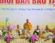 Lễ bế mạc Đại Giới đàn Bảo Tạng
