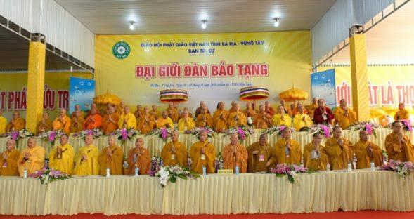 Trọng thể khai mạc Đại Giới đàn Bảo Tạng