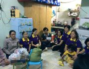 Phân BTN Ánh đạo Vũng Tàu thăm gia đình anh chị Trần Thị Mai ở TP.Vũng Tàu