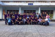Phân BTN Ánh Đạo Bình Dương phát quà tại TTĐD Tâm thần Tân Định