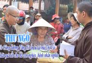 THƯ NGỎ – V/v Cúng dường Tăng Ni ẩn tu và phát quà tết cho bà con nghèo