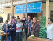 Phân BTN Ánh Đạo Bình Dương tặng quà Tết tại Trà Vinh