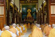 Khoá Lễ Tụng kinh Bồ Tát Giới của chư Tôn đức Tăng Ni khu vực núi Thị Vải