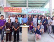 Phân BTN Ánh Đạo Bình Dương trao nhà tình thương tại Gò Công 2019