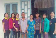 Phân BTN Ánh Đạo Cần Thơ tặng thẻ BHYT và quà đến bà con nghèo 03/2019