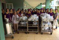 Phân BTN Ánh Đạo Vũng Tàu phát quà tại bệnh viện Tâm thần