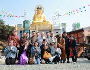 Đoàn hoằng pháp Viện Chuyên Tu thăm chùa Phạm Ngư và chùa Đại Pháp Luân