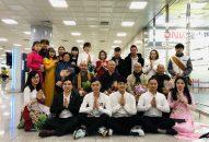 Đoàn hoằng pháp Việt Nam đến thăm Hòa thượng trụ trì chùa Tam Quang-Hàn Quốc