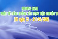 PHƯƠNG DANH PHẬT TỬ CÚNG DƯỜNG XÂY DỰNG VIỆN CHUYÊN TU (21-27/04/2019)