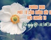 PHƯƠNG DANH PHẬT TỬ CÚNG DƯỜNG XÂY DỰNG VIỆN CHUYÊN TU (09-15/06/2019)
