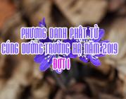 PHƯƠNG DANH PHẬT TỬ CÚNG DƯỜNG TRƯỜNG HẠ NĂM 2019 ĐỢT 1