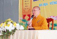 """""""Tự tứ, nét đặc thù của Phật giáo"""" giảng tại Trường hạ Vạn Phật Quang Đại Tòng Lâm"""