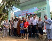 BTN Ánh Đạo trao nhà tình thương tại Long An, Bến Tre