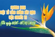 PHƯƠNG DANH PHẬT TỬ CÚNG DƯỜNG XÂY DỰNG VIỆN CHUYÊN TU (30/06-06/07/2019)