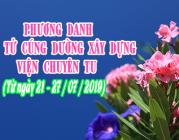PHƯƠNG DANH PHẬT TỬ CÚNG DƯỜNG XÂY DỰNG VIỆN CHUYÊN TU (21-27/07/2019)