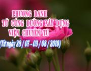 PHƯƠNG DANH PHẬT TỬ CÚNG DƯỜNG XÂY DỰNG VIỆN CHUYÊN TU (28/07-03/08/2019)