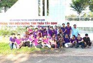 Phân BTN Ánh Đạo Bình Dương tặng quà tại trung tâm điều dưỡng tâm thần Tân Định