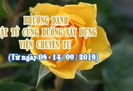 PHƯƠNG DANH PHẬT TỬ CÚNG DƯỜNG XÂY DỰNG VIỆN CHUYÊN TU (08-14/09/2019)