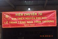 Phân Ban Ánh Đạo Bình Dương trao căn nhà tình thương tại tỉnh Đồng Nai