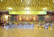 Ngày thứ hai các sự kiện diễn ra trong khóa tu học Phật pháp lần thứ 10 (phần 1)