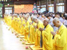 Lễ vu lan khóa tu học Phật pháp lần 10 tại Hàn Quốc