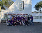 Phân BTN Ánh Đạo Bình Dương đến thăm Trung tâm điều dưỡng Tâm thần Tân Định