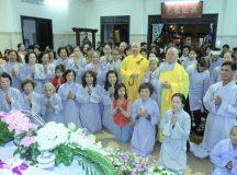 TT. Thích Thiện Thuận thuyết giảng tại chùa Tuệ Quang
