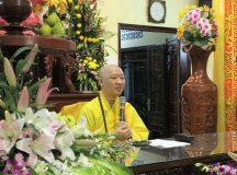TT. Thích Thiện Thuận thuyết giảng tại chùa Linh Phước