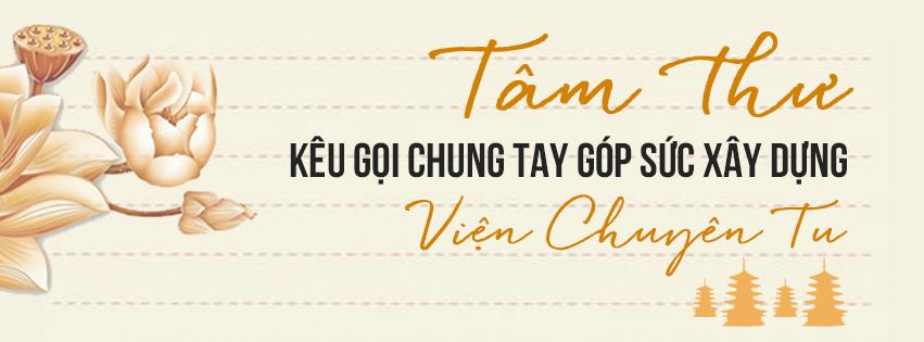 TÂM THƯ – Kêu gọi chung tay góp sức xây dựng Viện Chuyên Tu