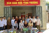 BTN Ánh Đạo trao quà và tặng nhà tại Đồng Nai