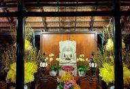 Không khí dọn dẹp và trang trí Tết tại Viện Chuyên Tu 1 & 2,  chùa Vạn Thiện