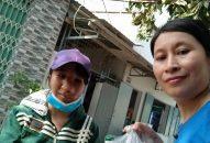 Phân Ban Thiện Nguyện Ánh Đạo Vũng Tàu tặng quà đến bà con nghèo