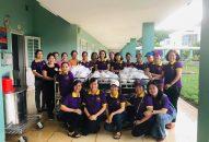 Phân BTN Ánh Đạo Vũng Tàu tặng quà tại Bệnh viện Tâm Thần