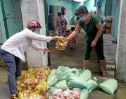 """Phân Ban Thiện nguyện Ánh Đạo Bình Dương tiếp tục chương trình """"Hạt gạo nghĩa tình"""""""