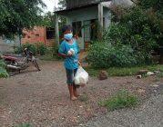 Trao tặng quà đến bà con nghèo mùa dịch – Thị xã Phú Mỹ