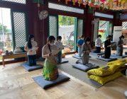 Cộng đồng Phật tử Viện Chuyên Tu tại Hàn Quốc tụng kinh và phóng sanh