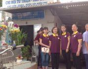 BTN Ánh Đạo tặng cơm chay tại bệnh viện Cần Thơ