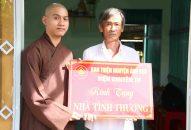 Ban Thiện Nguyện Ánh Đạo trao tặng nhà tình thương tại Long An