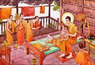 Phật chăm sóc đệ tử bệnh