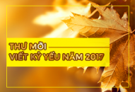 Thư mời viết Kỷ yếu năm 2017